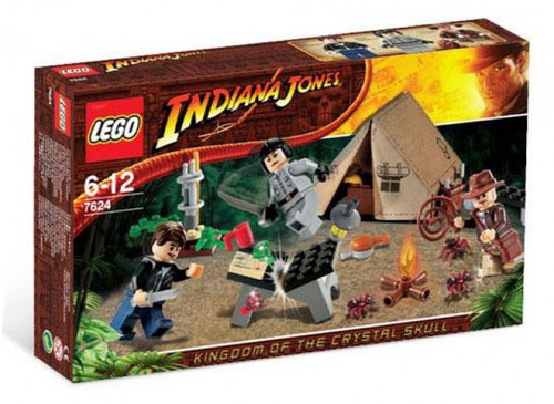 LEGO Indiana Jones Jungle Duel Set #7624