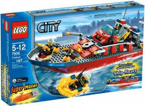 LEGO City Fireboat Set #7906