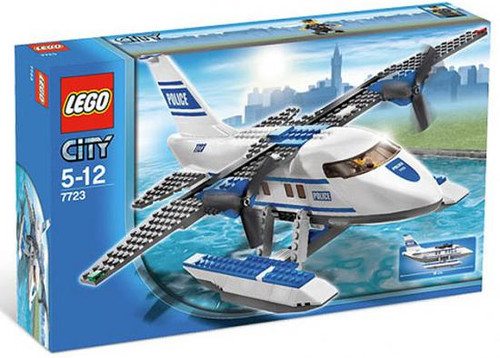 LEGO City Police Pontoon Plane Set #7723