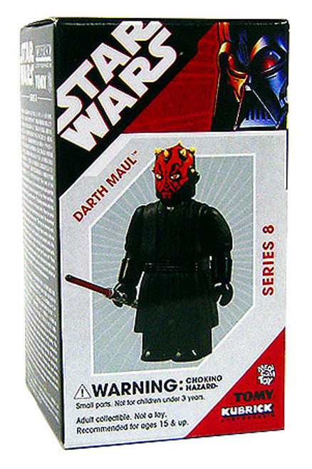 Star Wars The Phantom Menace Kubrick Series 8 Darth Maul Mini Figure