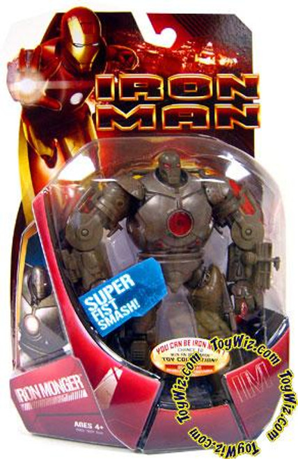 Iron Man Movie Iron Monger Action Figure [Red Arc Reactor]