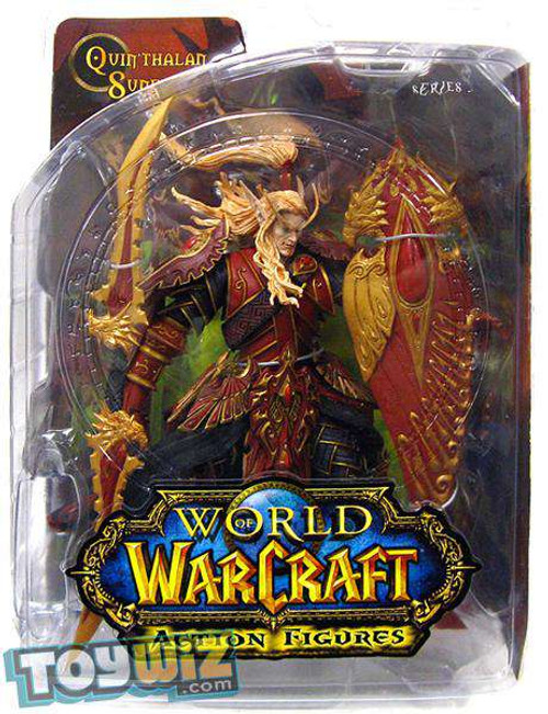 World of Warcraft Series 3 Quin'thalan Sunfire Action Figure [Blood Elf Paladin]