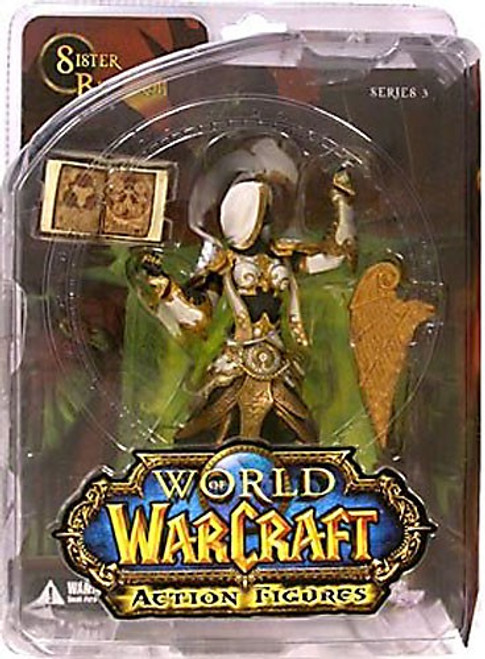 World of Warcraft Series 3 Sister Benedron Action Figure [Human Priestess]