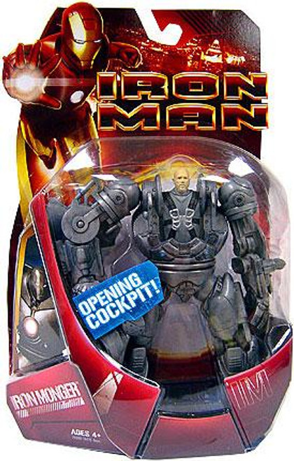 Iron Man Movie Iron Monger 2 Action Figure