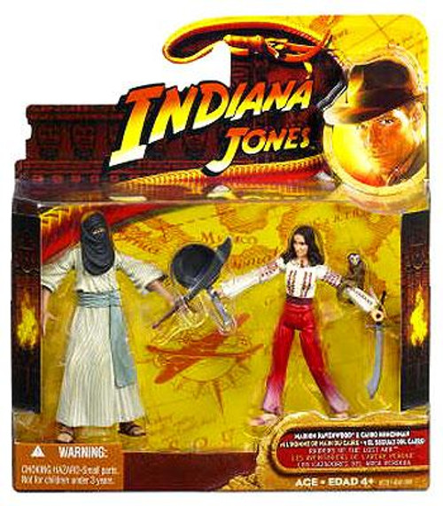 Indiana Jones Raiders of the Lost Ark Cairo Swordsman & Marion Action Figure 2-Pack