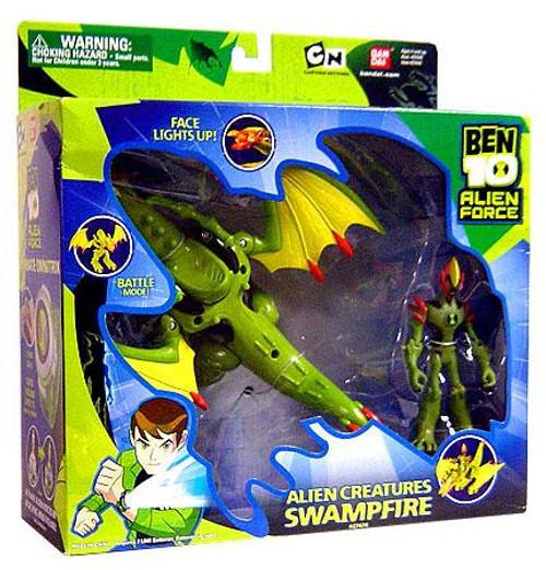 Ben 10 Alien Force Alien Creatures Swampfire Action Figure Set
