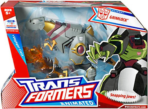 Transformers Animated Grimlock Voyager Action Figure