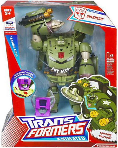 Transformers Animated Leader Bulkhead Leader Action Figure