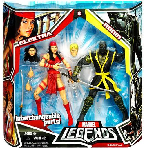 Marvel Legends Elektra & Ronin Action Figure 2-Pack