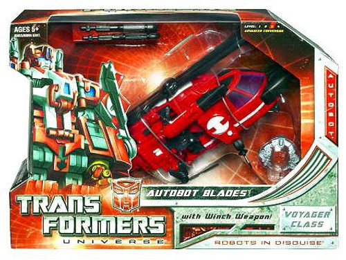 Transformers Universe Voyager Autobot Blades Voyager Action Figure
