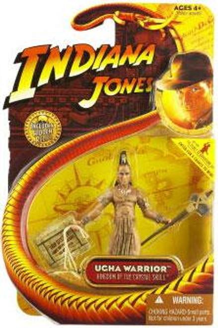 Indiana Jones Kingdom of the Crystal Skull Series 2 Ugha Warrior Action Figure
