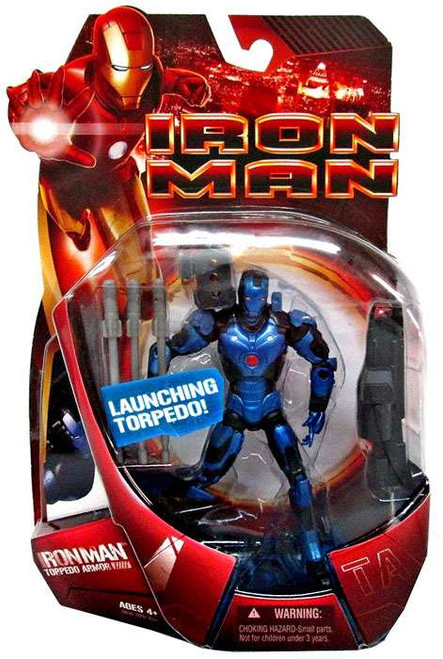 Iron Man Movie Torpedo Armor Iron Man Action Figure