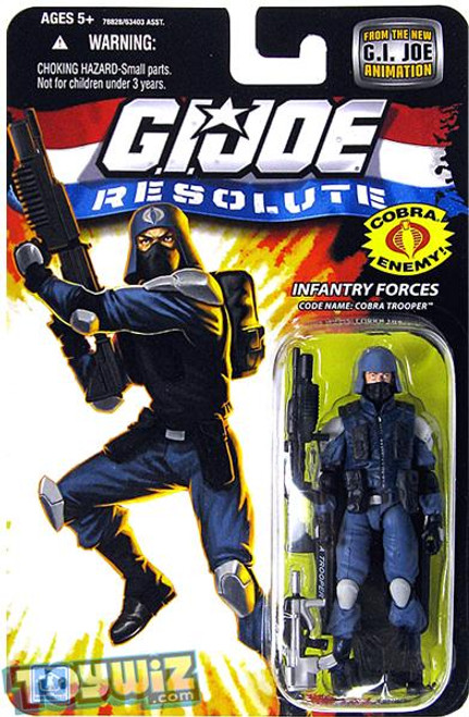 GI Joe Resolute Wave 13 Cobra Trooper Action Figure