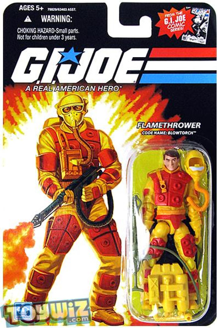 GI Joe Wave 13 Blowtorch Action Figure