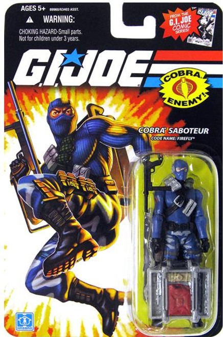 GI Joe Wave 13 Firefly Action Figure
