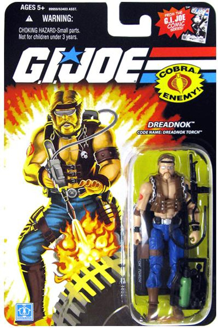 GI Joe Wave 13 Dreadnok Torch Action Figure