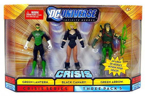 DC Universe Crisis Infinite Heroes Green Lantern {Hal Jordan}, Black Canary & Green Arrow Action Figures #5