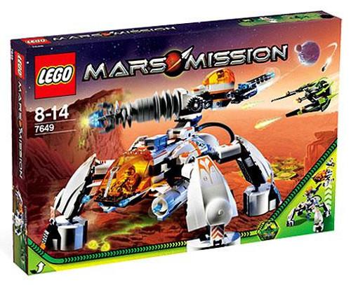 LEGO Mars Mission MT-201 Ultra Drill Walker Set #7649
