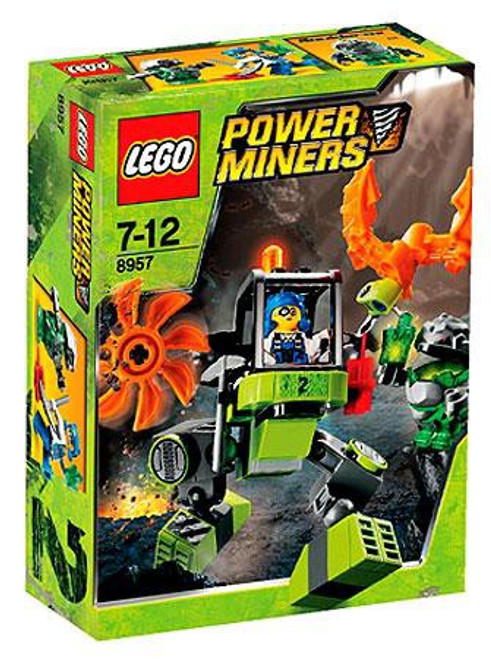 LEGO Power Miners Mine Mech Set #8957