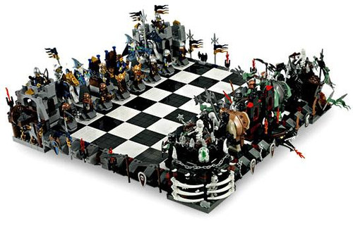 LEGO Castle Giant Chess Set Set #852293