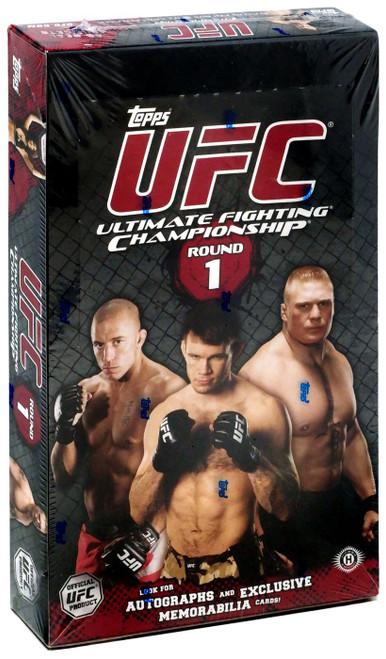 UFC 2009 Round 1 Trading Card Box