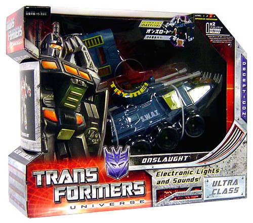 Transformers Universe Ultra Onslaught Ultra Action Figure [G1 Colors]