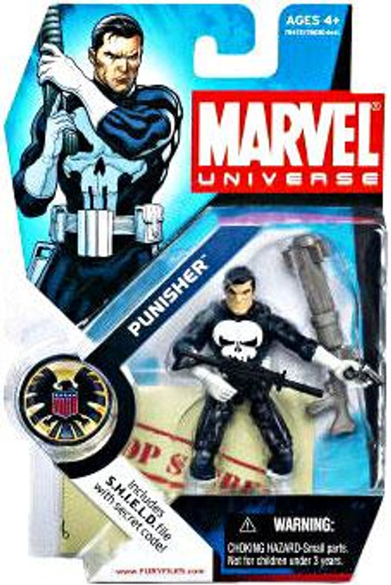 Marvel Universe Series 1 Punisher Action Figure #4 [White Gloves]