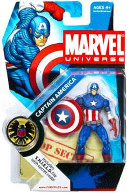 Marvel Universe Series 2 Captain America Action Figure #12