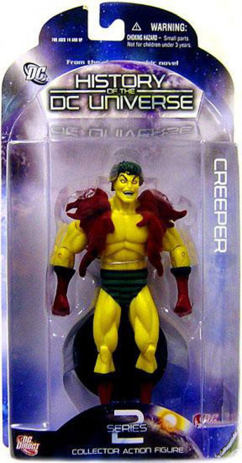 History of the DC Universe Series 2 Creeper Action Figure