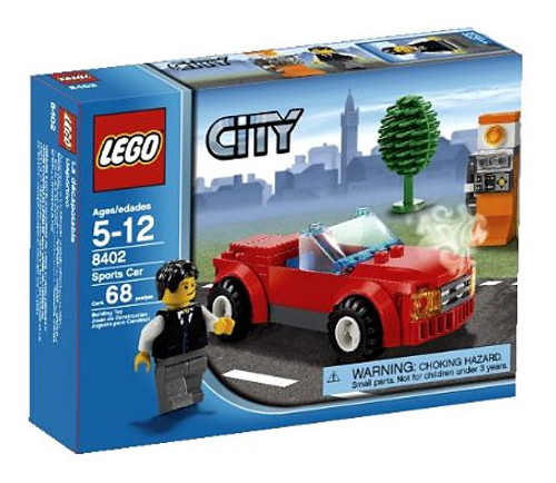 LEGO City Classic Car Set #8402