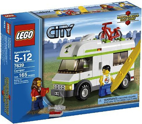 LEGO City Camper Set #7639