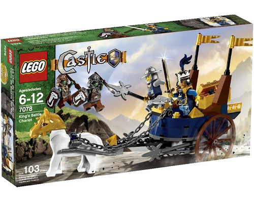 LEGO Castle King's Battle Chariot Set #7078