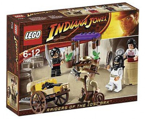 LEGO Indiana Jones Ambush in Cairo Set #7195