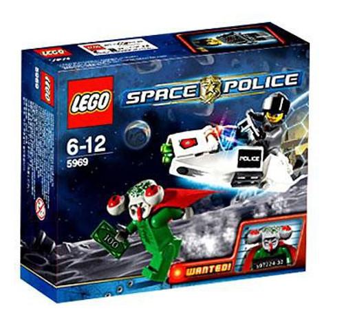 LEGO Space Police Squidman's Escape Set #5969