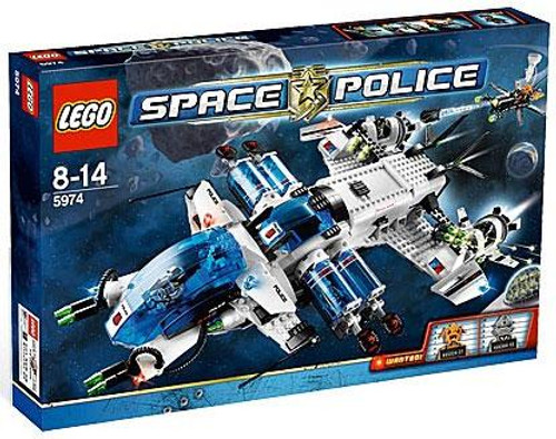 LEGO Space Police Galactic Enforcer Set #5974