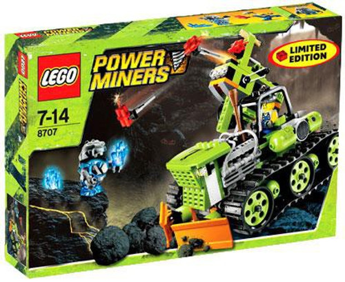 LEGO Power Miners Boulder Blaster Exclusive Set #8707