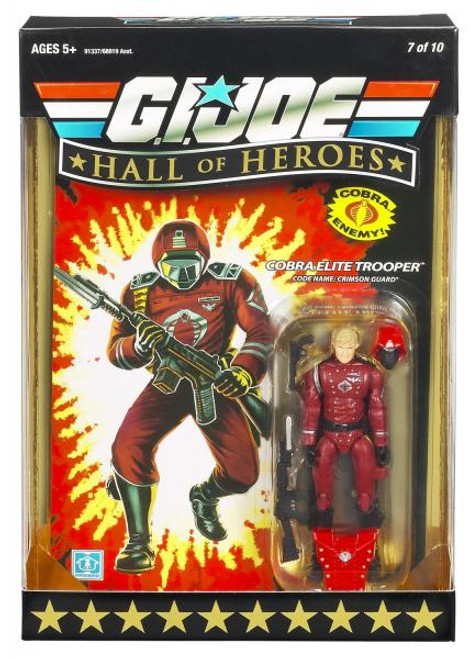 GI Joe Hall of Heroes Series 1 Crimson Guard Action Figure