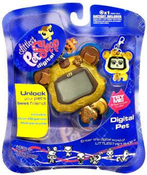 Littlest Pet Shop 2009 Digital Pets Chipmunk Electronic Toy