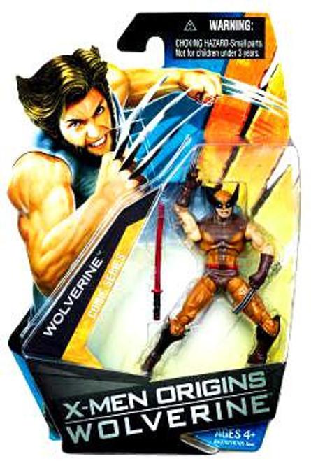 X-Men Origins Wolverine Wolverine Comic Series Wolverine Action Figure [Brown & Yellow Suit]