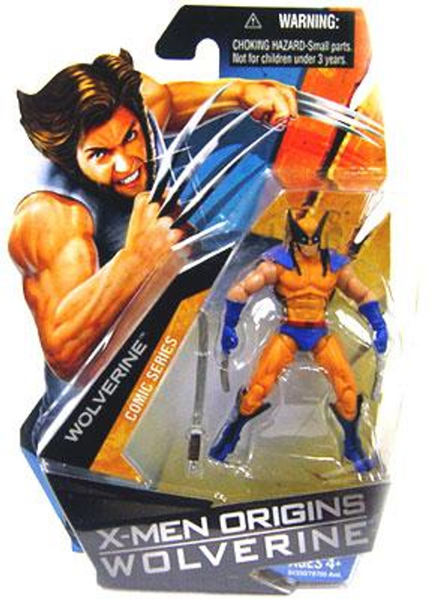 X-Men Origins Wolverine Wolverine Comic Series Wolverine Action Figure [Blue & Yellow Suit]