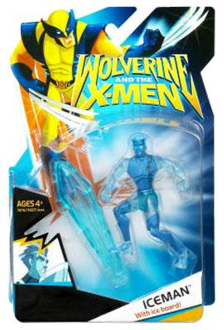Wolverine and the X-Men Iceman Action Figure [Clear, No Clothes]