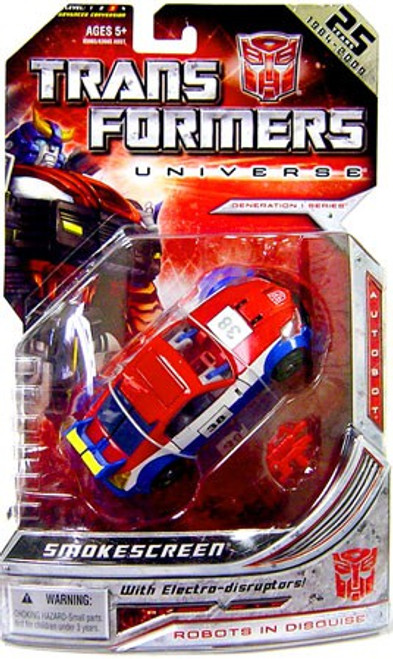 Transformers Universe 25th Anniversary Deluxe Smokescreen Deluxe Action Figure