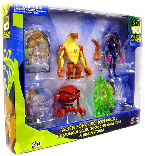 Ben 10 Alien Force Action Pack 2 Exclusive Action Figure Set [Set #2]
