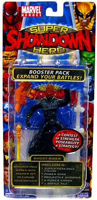 Marvel Heroes Super Hero Showdown Ghost Rider Action Figure Booster Pack