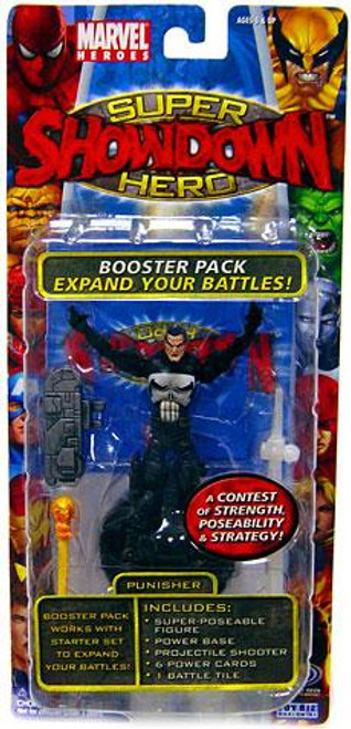 Marvel Heroes Super Hero Showdown Punisher Action Figure Booster Pack