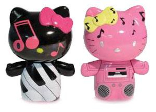 Hello Kitty Urban Vinyl Piano Kitty & Boom Box Mimmy Vinyl Figure 2-Pack