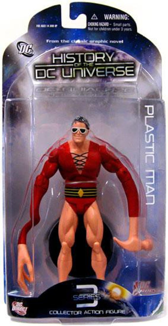 History of the DC Universe Series 3 Plastic Man Action Figure