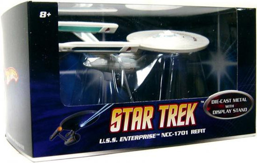 Star Trek The Motion Picture Hot Wheels U.S.S. Enterprise NCC-1701 Diecast Vehicle [Refit]