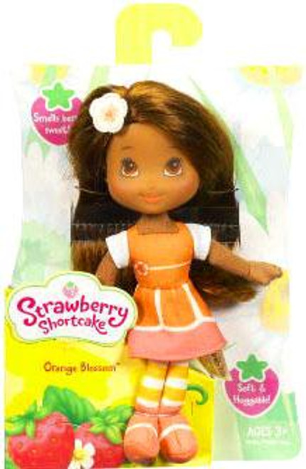 Strawberry Shortcake Orange Blossom Mini Soft Doll