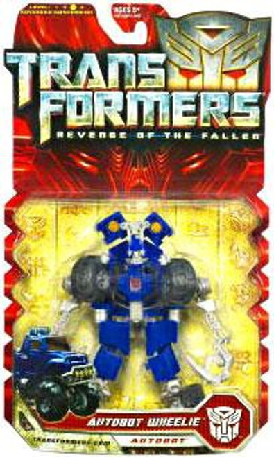 Transformers Revenge of the Fallen Autobot Wheelie Deluxe Action Figure